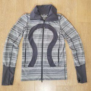 Lululemon In Stride Scuba Jacket Size 4